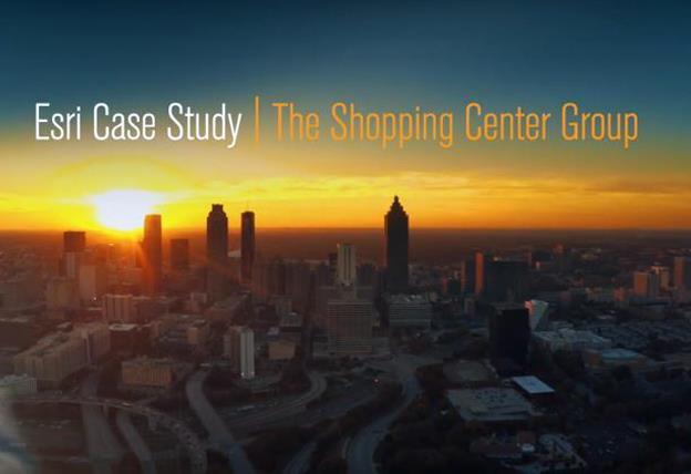 Topic : Esri Case Study: The Shopping Center Group (TSCG)